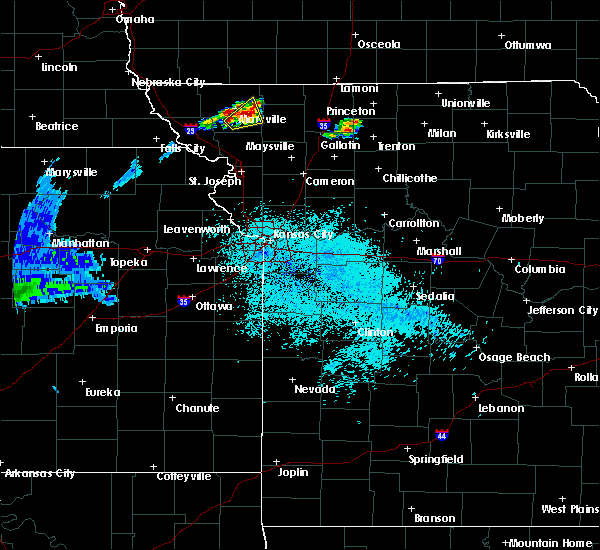 Radar Image for Severe Thunderstorms near Conception Junction, MO at 6/22/2020 12:43 AM CDT