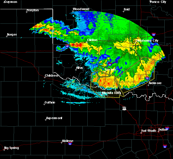 Radar Image for Severe Thunderstorms near Hastings, OK at 6/22/2020 1:16 AM CDT