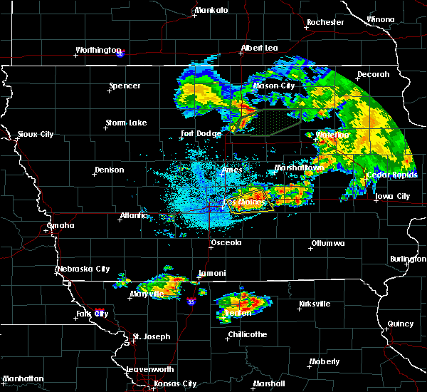 Radar Image for Severe Thunderstorms near Grinnell, IA at 6/22/2020 1:49 AM CDT