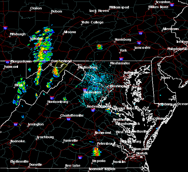 Radar Image for Severe Thunderstorms near Paw Paw, WV at 6/22/2020 1:17 PM EDT