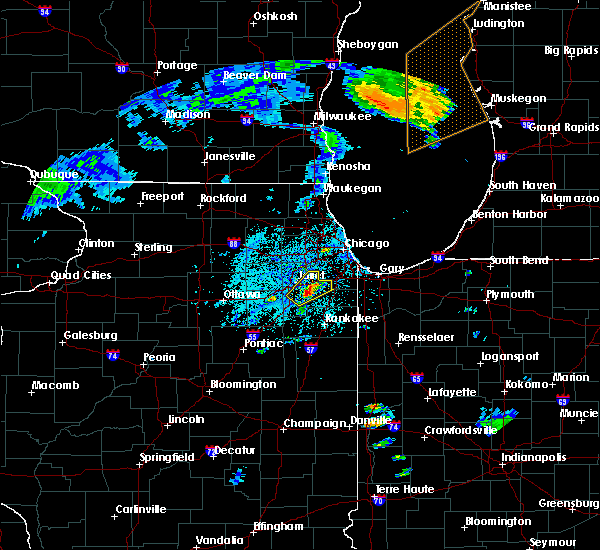 Radar Image for Severe Thunderstorms near Fairmont, IL at 6/22/2020 12:55 PM CDT