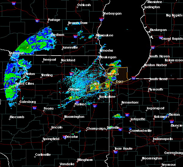 Radar Image for Severe Thunderstorms near Manhattan, IL at 6/22/2020 2:00 PM CDT