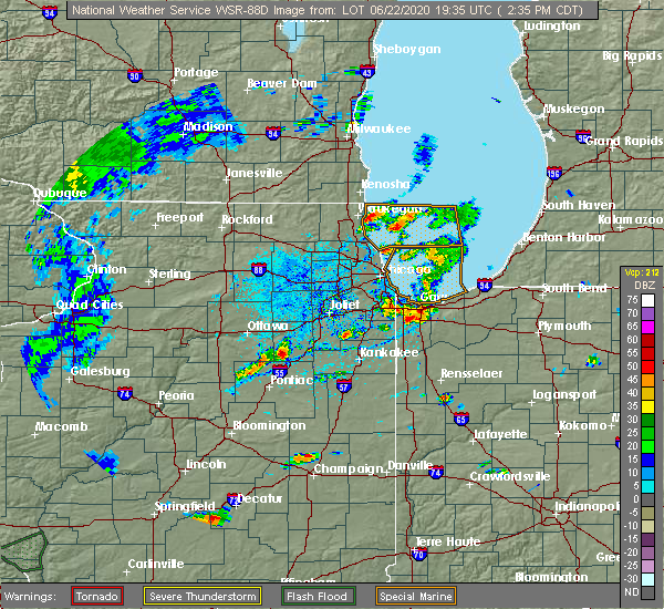 Radar Image for Severe Thunderstorms near Aberdeen, IN at 6/22/2020 2:39 PM CDT