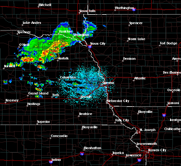 Radar Image for Severe Thunderstorms near Pierce, NE at 6/22/2020 2:55 PM CDT