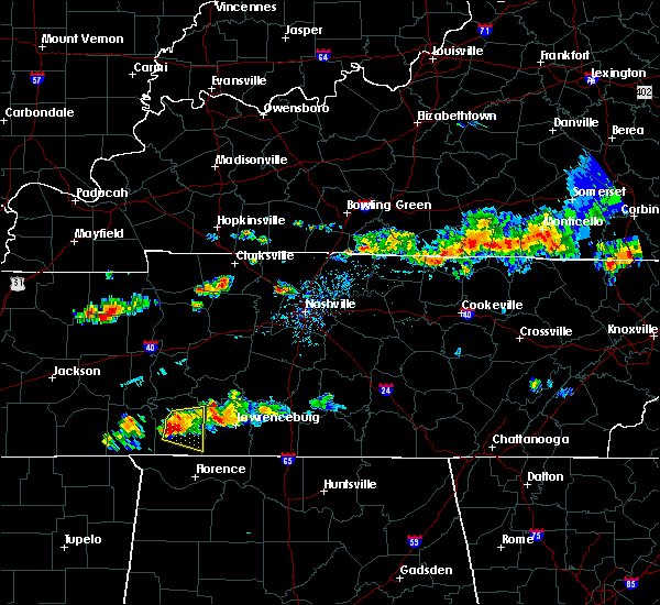 Radar Image for Severe Thunderstorms near Collinwood, TN at 6/29/2015 6:57 PM CDT