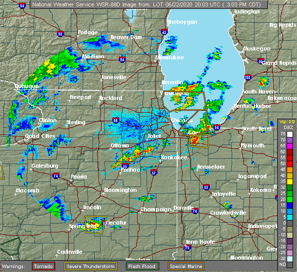 Radar Image for Severe Thunderstorms near Aberdeen, IN at 6/22/2020 3:07 PM CDT