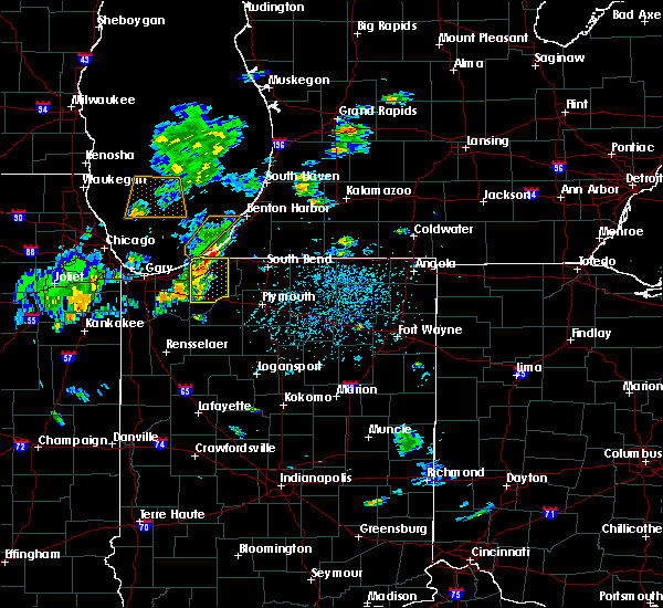 Radar Image for Severe Thunderstorms near Kingsbury, IN at 6/22/2020 4:01 PM CDT