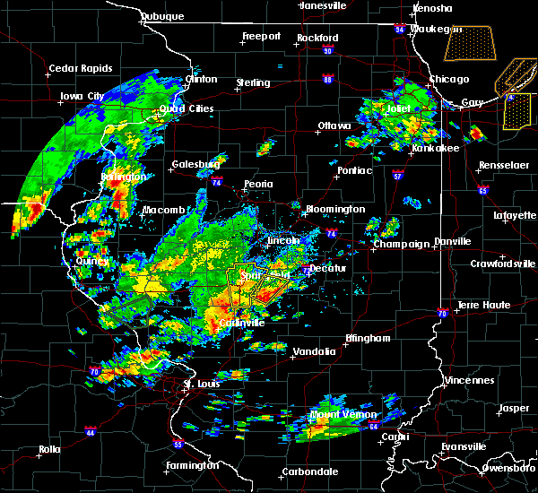 Radar Image for Severe Thunderstorms near Sherman, IL at 6/22/2020 4:04 PM CDT