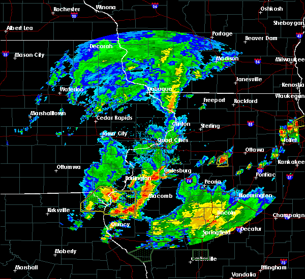 Radar Image for Severe Thunderstorms near Fort Madison, IA at 6/22/2020 4:35 PM CDT