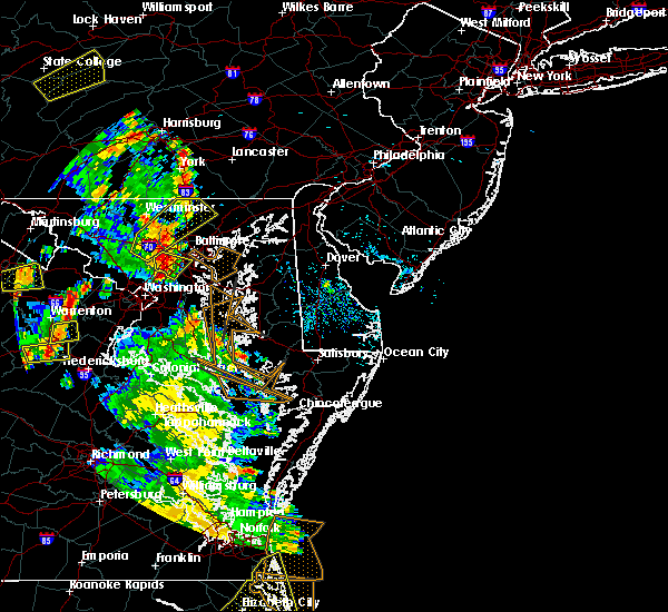 Radar Image for Severe Thunderstorms near Algonquin, MD at 6/22/2020 5:36 PM EDT