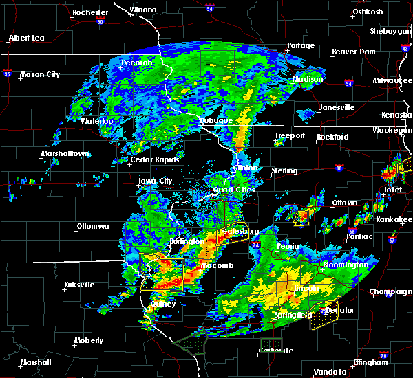 Radar Image for Severe Thunderstorms near Fort Madison, IA at 6/22/2020 4:49 PM CDT