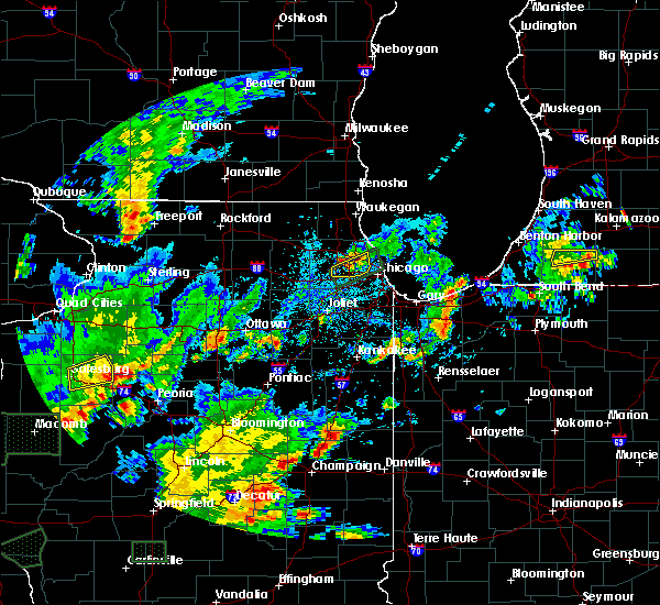 Radar Image for Severe Thunderstorms near Niles, IL at 6/22/2020 5:27 PM CDT