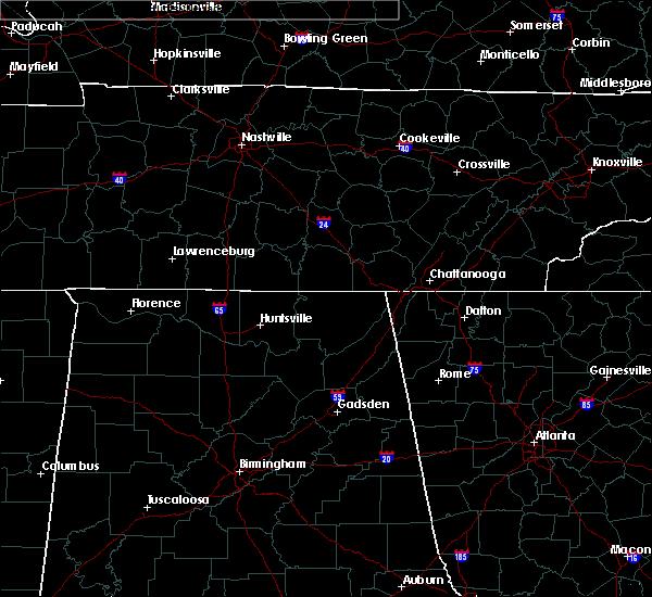 Radar Image for Severe Thunderstorms near Scottsboro, AL at 6/22/2020 5:33 PM CDT