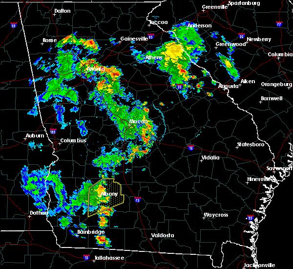 Radar Image for Severe Thunderstorms near Putney, GA at 6/22/2020 6:51 PM EDT