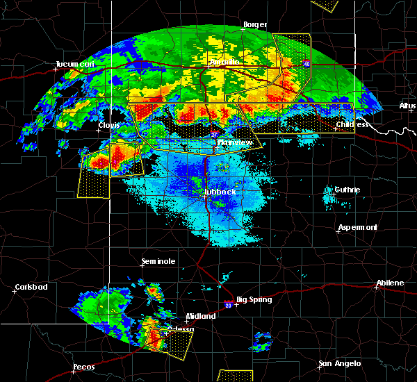 Radar Image for Severe Thunderstorms near Friona, TX at 6/22/2020 10:02 PM CDT