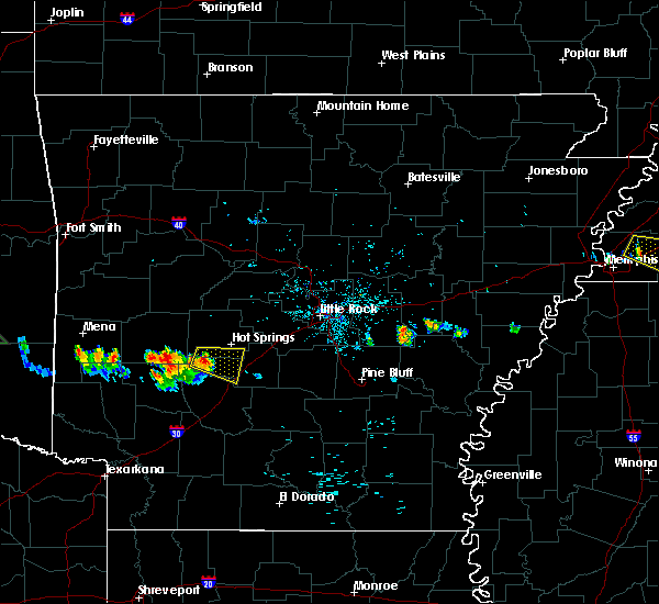 Radar Image for Severe Thunderstorms near Friendship, AR at 6/29/2015 7:48 PM CDT