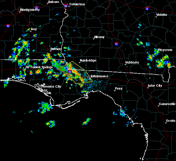 Radar Image for Severe Thunderstorms near Tallahassee, FL at 6/23/2020 12:18 PM EDT