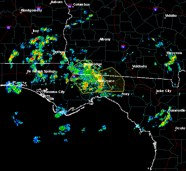 Radar Image for Severe Thunderstorms near Tallahassee, FL at 6/23/2020 1:00 PM EDT