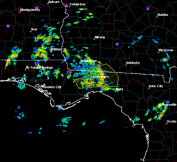 Radar Image for Severe Thunderstorms near Tallahassee, FL at 6/23/2020 1:22 PM EDT