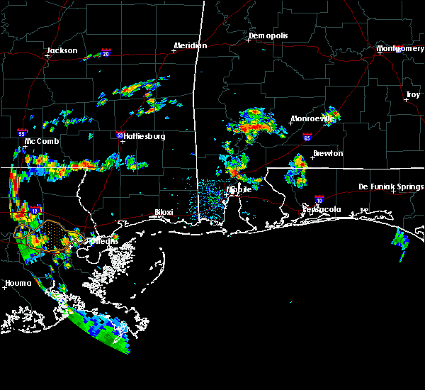 Radar Image for Severe Thunderstorms near Spanish Fort, AL at 6/23/2020 4:30 PM CDT