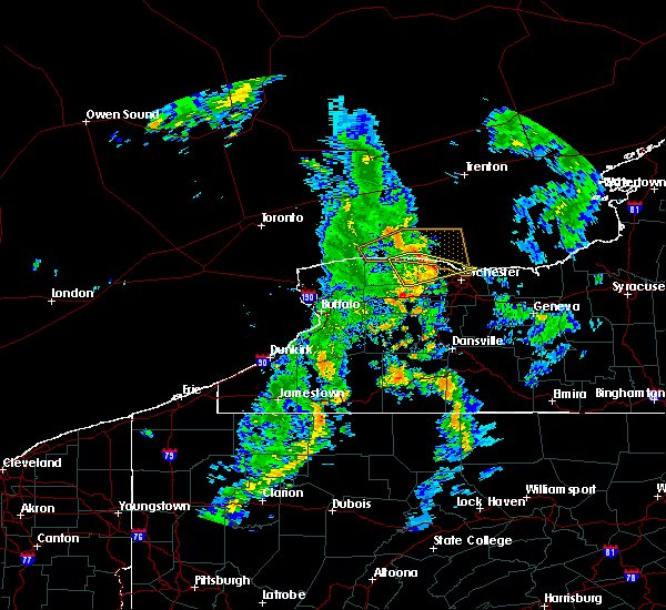 Radar Image for Severe Thunderstorms near Greece, NY at 6/23/2020 5:42 PM EDT