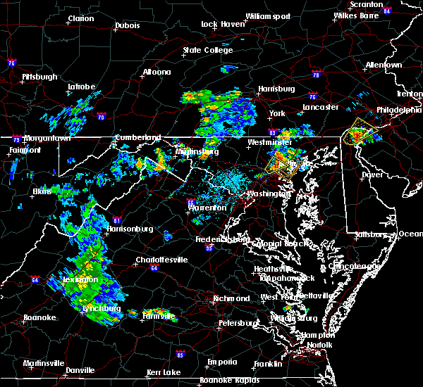 Radar Image for Severe Thunderstorms near Jarrettsville, MD at 6/23/2020 7:02 PM EDT