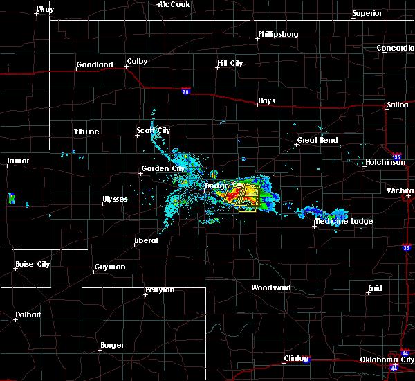 Radar Image for Severe Thunderstorms near Ford, KS at 6/24/2020 8:29 PM CDT