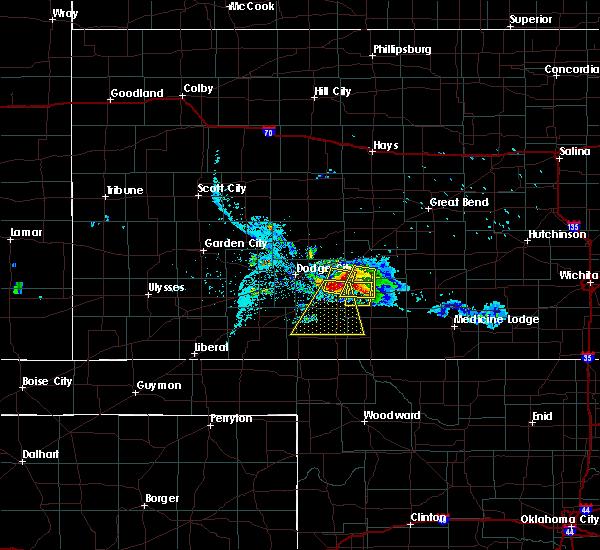 Radar Image for Severe Thunderstorms near Ford, KS at 6/24/2020 8:31 PM CDT