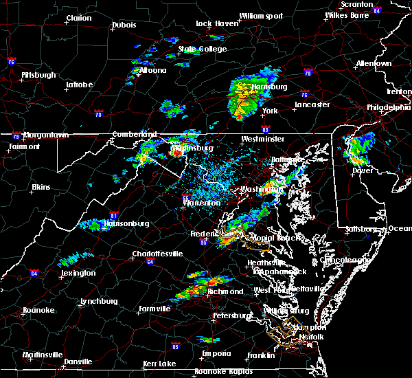 Radar Image for Severe Thunderstorms near Sharpsburg, MD at 6/25/2020 4:15 PM EDT