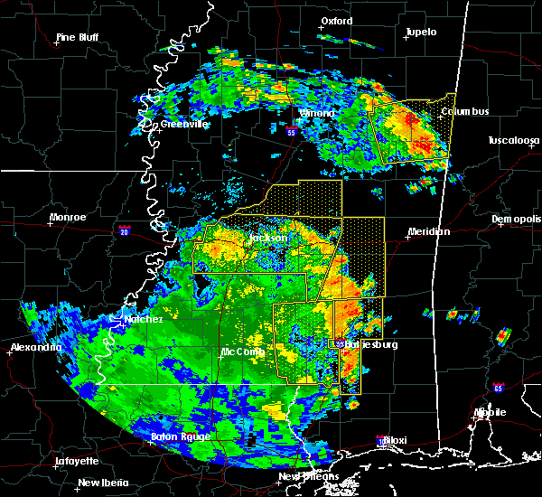 Radar Image for Severe Thunderstorms near Bay Springs, MS at 6/25/2020 5:49 PM CDT