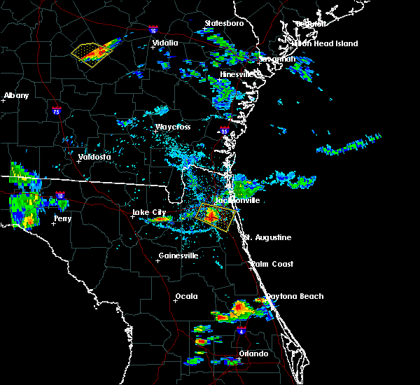 Radar Image for Severe Thunderstorms near Palm Valley, FL at 6/25/2020 6:59 PM EDT