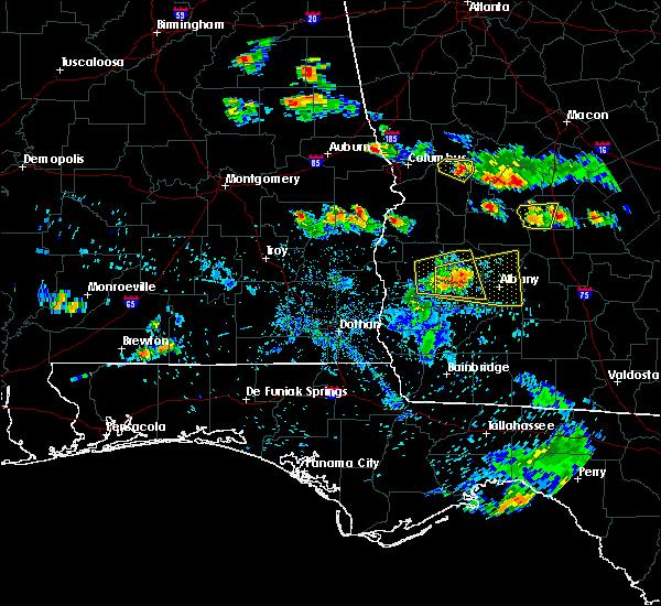 Radar Image for Severe Thunderstorms near Putney, GA at 6/25/2020 7:31 PM EDT