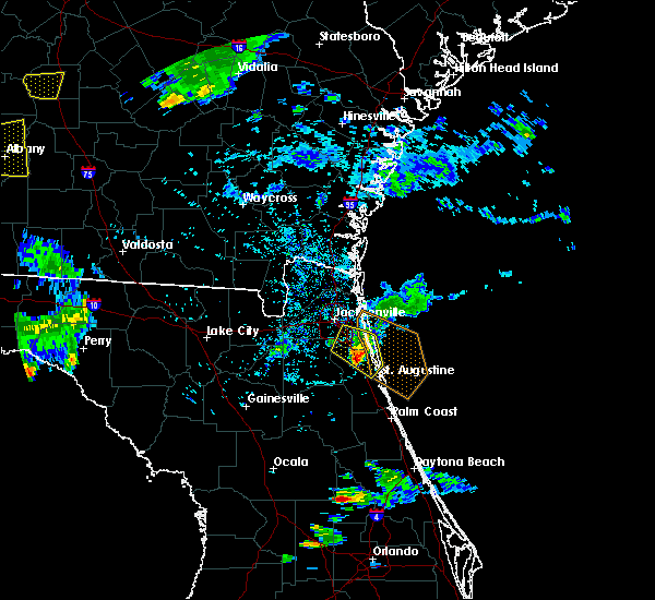 Radar Image for Severe Thunderstorms near World Golf Village, FL at 6/25/2020 7:38 PM EDT