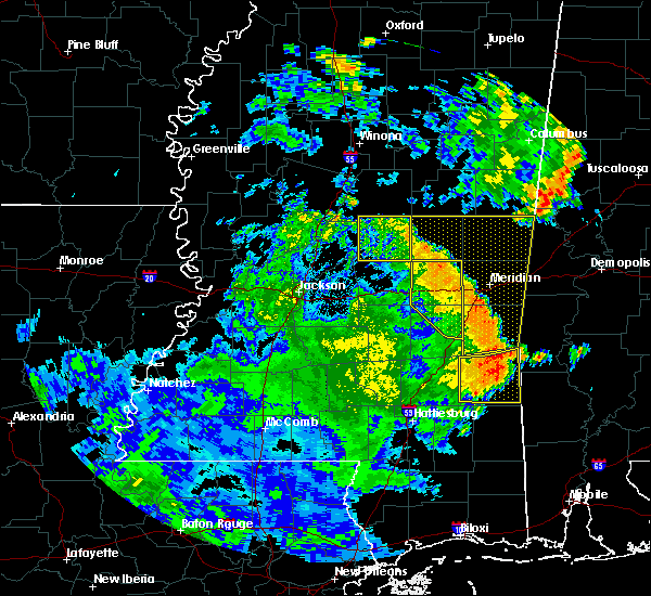 Radar Image for Severe Thunderstorms near Pearl River, MS at 6/25/2020 6:40 PM CDT