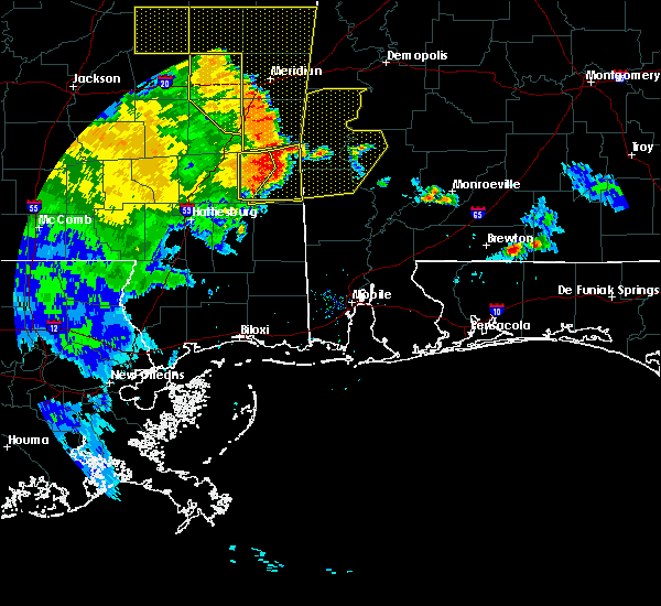 Radar Image for Severe Thunderstorms near Silas, AL at 6/25/2020 6:40 PM CDT