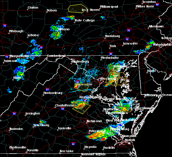 Radar Image for Severe Thunderstorms near Croom, MD at 6/25/2020 7:42 PM EDT