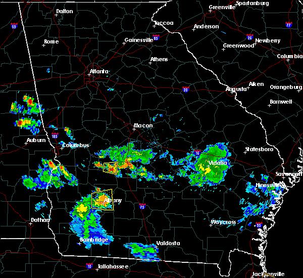 Radar Image for Severe Thunderstorms near Putney, GA at 6/25/2020 8:05 PM EDT