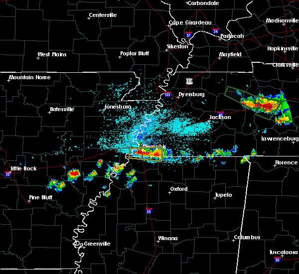 Radar Image for Severe Thunderstorms near West Memphis, AR at 6/29/2015 11:15 PM CDT