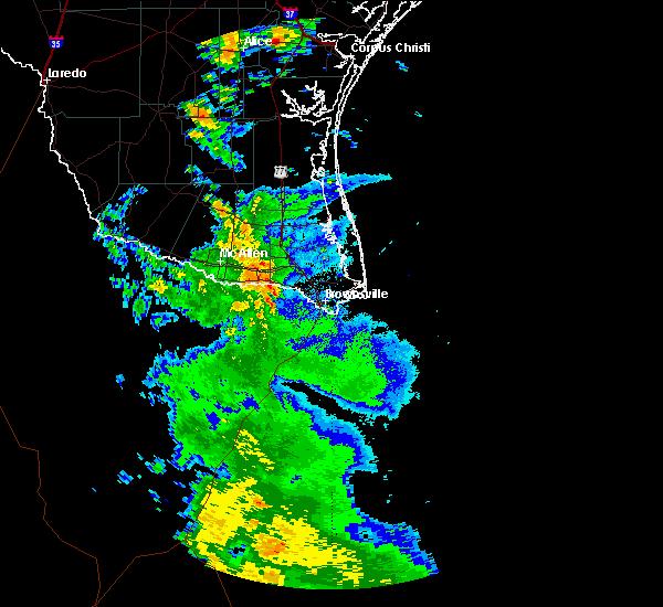 Radar Image for Severe Thunderstorms near Elsa, TX at 6/26/2020 4:34 AM CDT