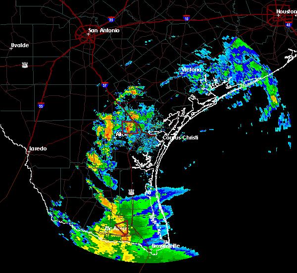 Radar Image for Severe Thunderstorms near San Patricio, TX at 6/26/2020 4:48 AM CDT