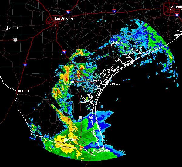 Radar Image for Severe Thunderstorms near Skidmore, TX at 6/26/2020 5:13 AM CDT