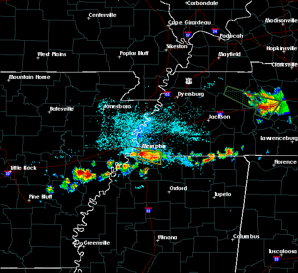 Radar Image for Severe Thunderstorms near Memphis, TN at 6/29/2015 11:33 PM CDT