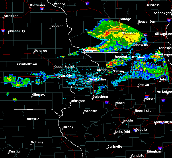 Radar Image for Severe Thunderstorms near Adeline, IL at 6/26/2020 4:51 PM CDT