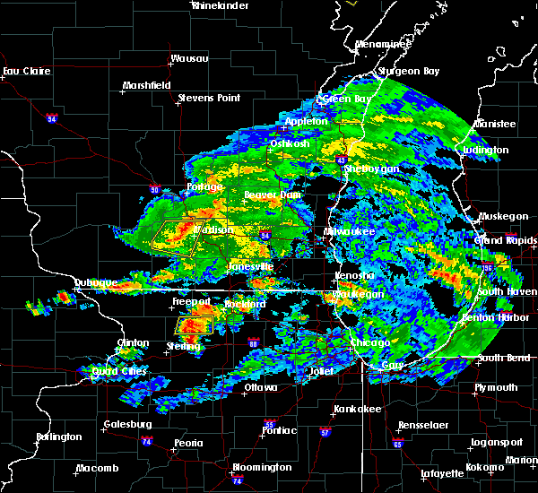 Radar Image for Severe Thunderstorms near Madison, WI at 6/26/2020 5:19 PM CDT