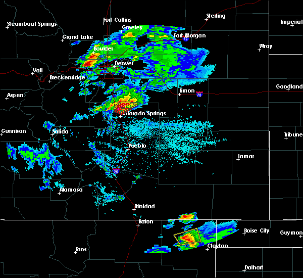 Radar Image for Severe Thunderstorms near Grenville, NM at 6/26/2020 4:27 PM MDT