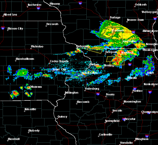 Radar Image for Severe Thunderstorms near Nora, IL at 6/26/2020 5:33 PM CDT