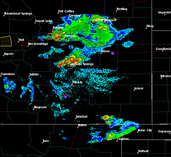 Radar Image for Severe Thunderstorms near Fountain, CO at 6/26/2020 5:01 PM MDT
