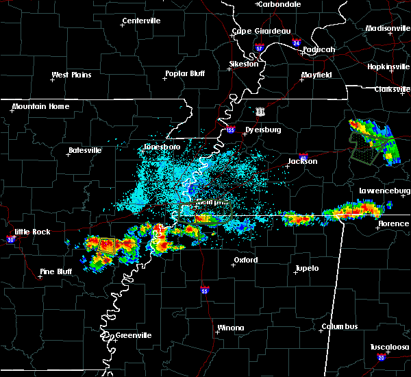 Radar Image for Severe Thunderstorms near Rondo, AR at 6/30/2015 12:32 AM CDT