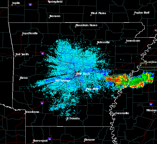 Radar Image for Severe Thunderstorms near Rondo, AR at 6/30/2015 1:17 AM CDT