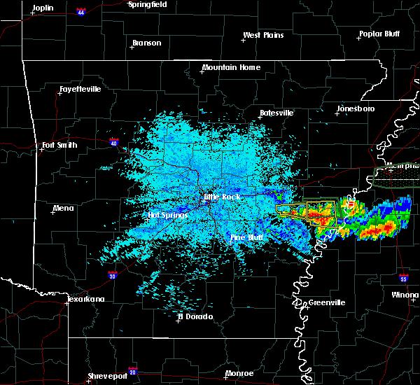 Radar Image for Severe Thunderstorms near Lexa, AR at 6/30/2015 1:41 AM CDT